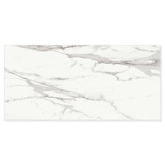 Porcelanato Esmaltado Retificado Calacat Light Polido Branco 120x250cm - Roca