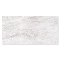 Porcelanato Fosco Borda Reta Element White 62,5x125cm - Elizabeth