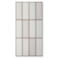 Porcelanato Hd Brilhante Borda Reta Wallcolor White 50x100cm - Elizabeth