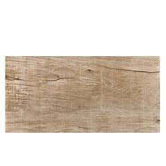 Porcelanato Hd Esmaltado Acetinado Borda Reta Antique Wood Amber Bege 50x100cm - Elizabeth