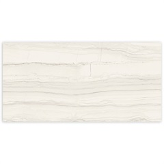 Porcelanato Hd Polido Borda Reta Linear Marble White 60x120cm - Portinari