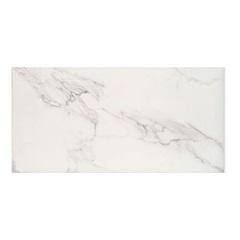 Porcelanato Hd Polido Brilhante Borda Reta Alpino Branco 50x100cm - Elizabeth