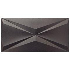Porcelanato Metalizado Borda Reta Cubic Grafite 30x60cm - Roca