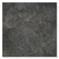 Porcelanato Natural Borda Reta Cement Stone Preto 87,7x87,7cm - Portinari