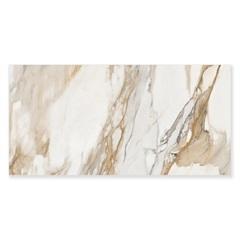 Porcelanato Natural Borda Reta Eterno Borghini White 58,4x117cm - Ceusa