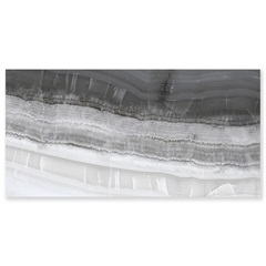 Porcelanato Onix Grafite Polido Retificado Cinza 80x160cm - Eliane