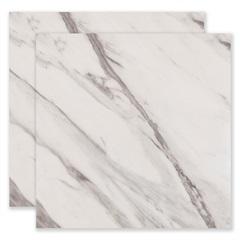 Porcelanato Polido Borda Reta Bianco Carrara Branco 60x60cm - Portobello