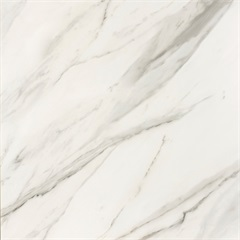 Porcelanato Polido Borda Reta Marmi Classico Bianco Carrara 90x90cm - Portobello
