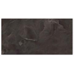 Porcelanato Polido Borda Reta Onice Black 58,4x117cm - Portinari