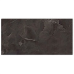 Porcelanato Polido Borda Reta Onice Black 60x120cm - Portinari