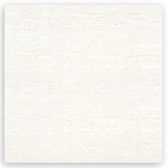 Porcelanato Polido Borda Reta Travertino Clássico Beige 100x100cm - Portinari