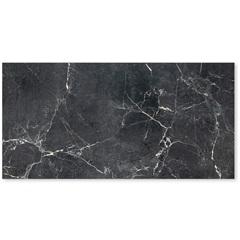Porcelanato Polido Borda Reta Venato Black 60x120cm - Roca