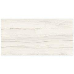 Porcelanato Retificado Acetinado Linear Marble Hd White 58,4x117cm - Portinari
