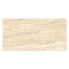Porcelanato Retificado Acetinado Travertino Navona Bege 52,7x105cm - Biancogres