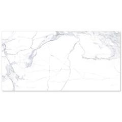 Porcelanato Retificado Brilhante Statuário Clássico Hd Branco 62,5x125cm - Elizabeth