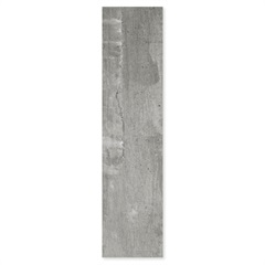 Porcelanato Rústico Esmaltado Acetinado Borda Reta Concreto 20,2x86,5cm - Ceusa