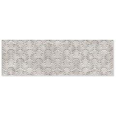Porcelanato Rústico Esmaltado Acetinado Borda Reta Leque Cimento 32x100cm - Ceusa