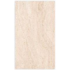 Porcelanato Travertino Classico Retificado Acetinado Marmore 63x108cm - Villagres