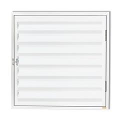 Porta Abrigo com Ventilação Plus 80x80cm Branco - Brimak