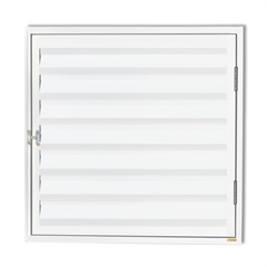 Porta Abrigo Plus 80x80cm Branco - Brimak