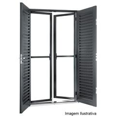Porta Balcão de Abrir 4 Folhas Silenfort  2,17 X 1,20  - Sasazaki