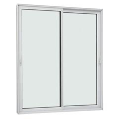 Porta de Correr Lateral Aluminium Sound Block 220x160cm Branca - Sasazaki