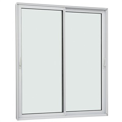 Porta de Correr Lateral Aluminium Sound Block 220x200cm Branca - Sasazaki