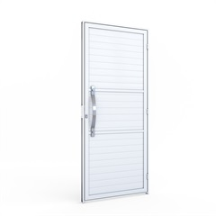 Porta de Giro com Puxador em Alumínio 215x89x6,5cm Direita - Riobras