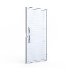 Porta de Giro com Puxador em Alumínio 215x89x6,5cm Esquerda - Riobras