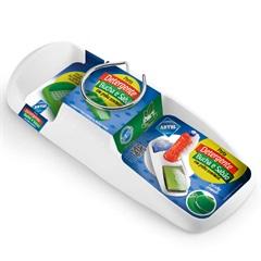Porta Detergente Bucha E Sabão - Arthi