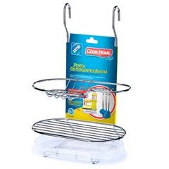 Porta Detergente com Suporte para Pendurar Cromado - Arthi