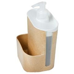 Porta Detergente E Esponja Wave Cerejeira - Evo