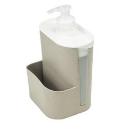 Porta Detergente E Esponja Wave Preto - Evo