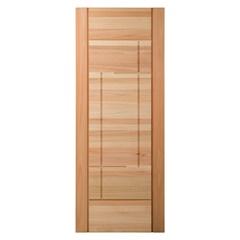 Porta em Madeira Maciça Neo Moderne Eucalipto 210x92cm Natural - Cruzeiro