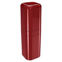 Porta Escova com Tampa Splash 22,5x6,5cm Vermelho Bold - Coza