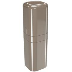 Porta Escova com Tampa Splash 22,5x6,5cm Warm Gray - Coza