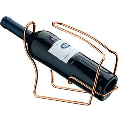 Porta Garrafa de Vinho em Aço Cobreado - Future