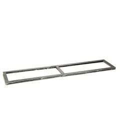 Porta Grelha em Ferro Fundido 20 X 100 Cm - A Brazilian