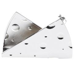 Porta Guardanapo em Zamac Mouse 15x10cm - Prestige