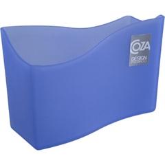 Porta Guardanapos em Polietileno Azul - Coza