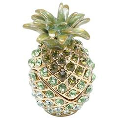 Porta Joias em Zamac Pineapple Glamorous 4x6,5cm - Prestige