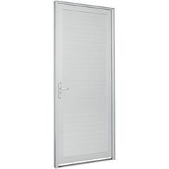 Porta Lambri Horizontal Alumifort 216x88cm Branca