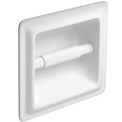 Porta Papel Higiênico de Embutir Branco - Deca