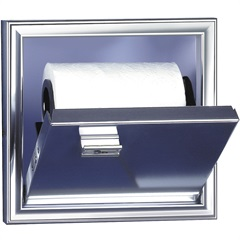 Porta Papel Higiênico de Embutir Cromado - Cris Metal