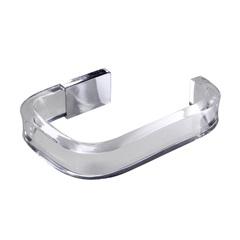 Porta Papel Higiênico em Acrílico Vegas Cristal - Formacril