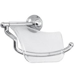 Porta Papel Higiênico Ideale Cristal - Aquaplás