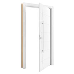 Porta Pivotante em Mdp Sólido Elegance 210x100cm Branca