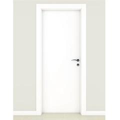Porta Premium Lisa Branco Carrara 210x82cm - Famossul