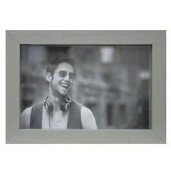 Porta Retrato Caixa Color 15x21cm Chumbo - Kapos