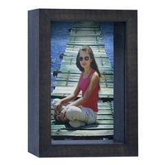Porta Retrato Caixa Color 15x21cm Imbuia - Kapos